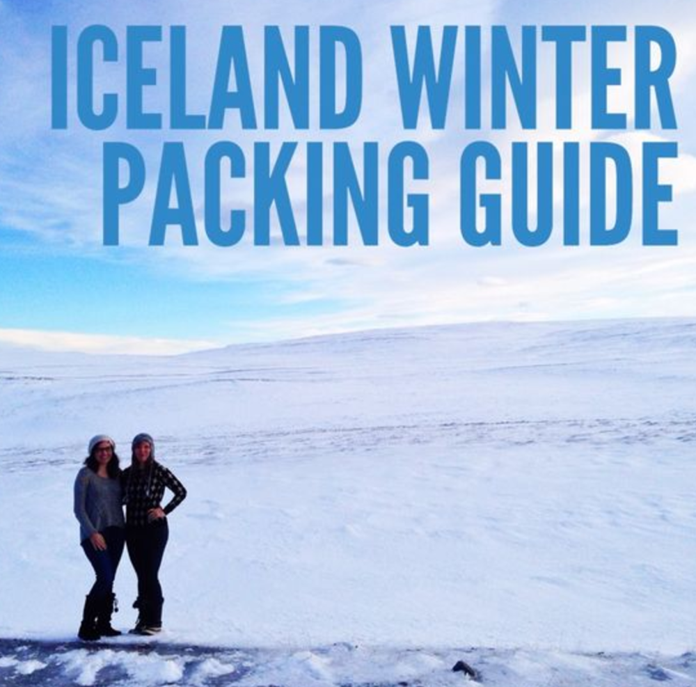 iceland winter packing guide get your travel on