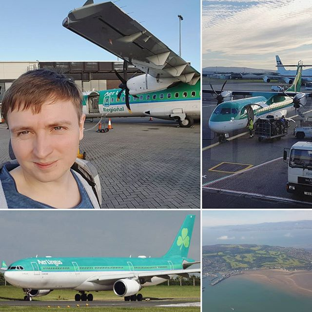 @aidanaivis flying from #glasgow to #chicago via #dublin with #aerlingus yesterday to meet @travisnotcool for the first time! #exciting #trip #letsdothis