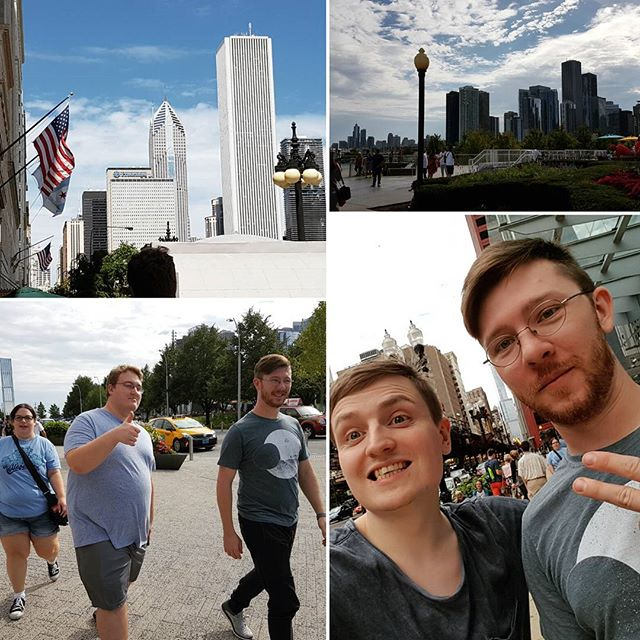 Thanks @danthefilmman and @ebethm216 for showing us around #chicago today! Such a cool city 😉🏢