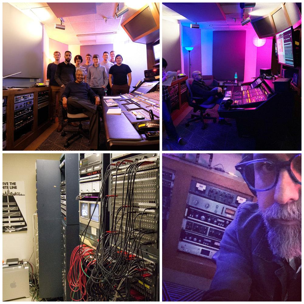 Control Room B, University of Texas, patchbay/machine room