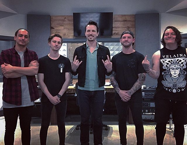 Everyone knows a record isn't officially done until you take the group photo. Had a great time and made some new friends. Can't wait to show the world this record. This photo is also potato quality.