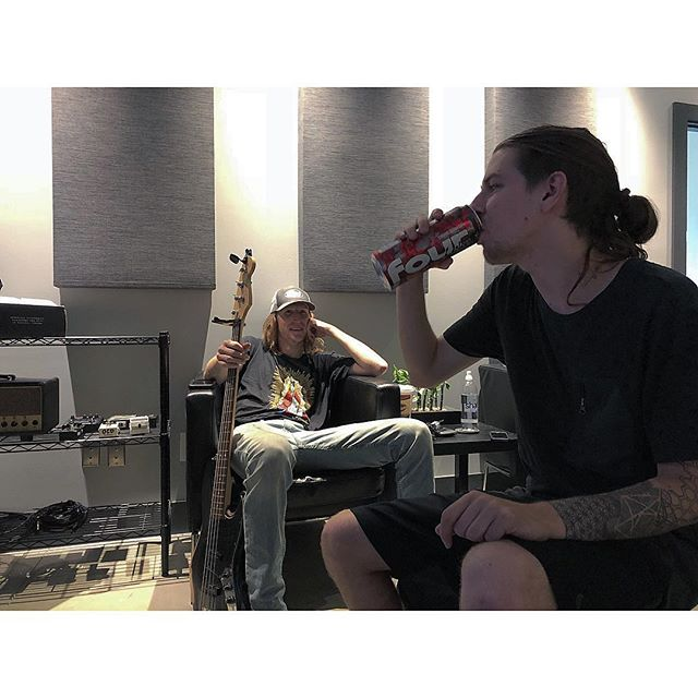 Nothing like that 10am Four Loko before tracking bass.