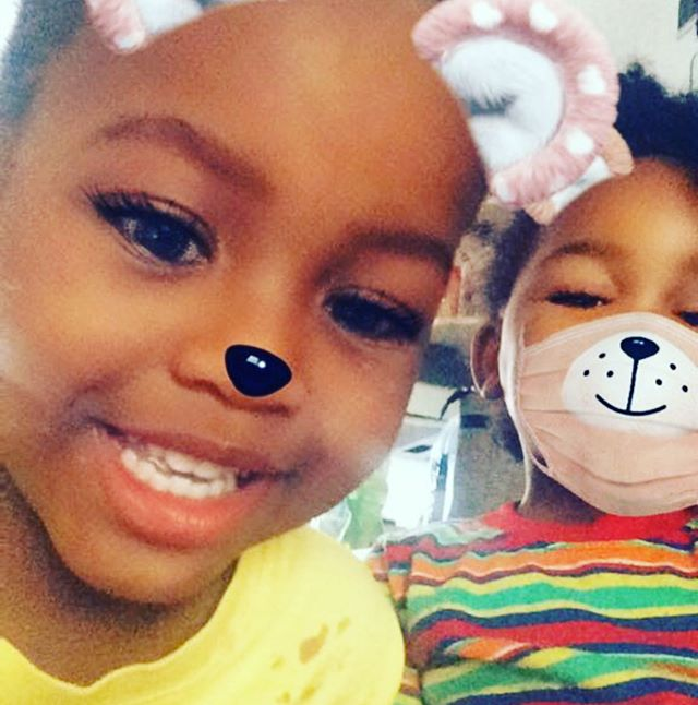 Kids of today will never know the struggle of not having things like snapchat to entertain them when all else fails 😂 nephew x niece 💜