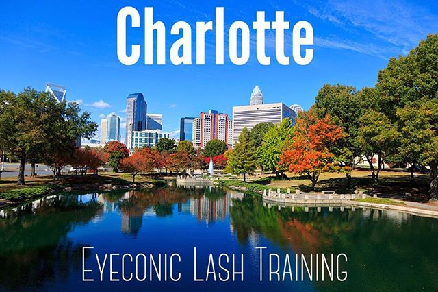 Charlotte!! You're the next stop! July 15-17!!! Let's start filling up those spots!