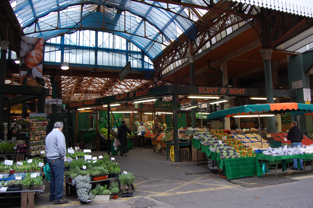 Borough Market - one of London's great places. Image: Flickr/magnus_d