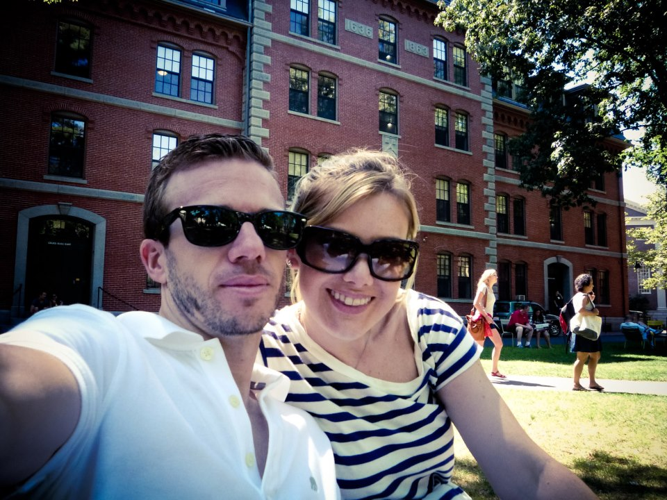 At Harvard. Don't we look smarter just being there?