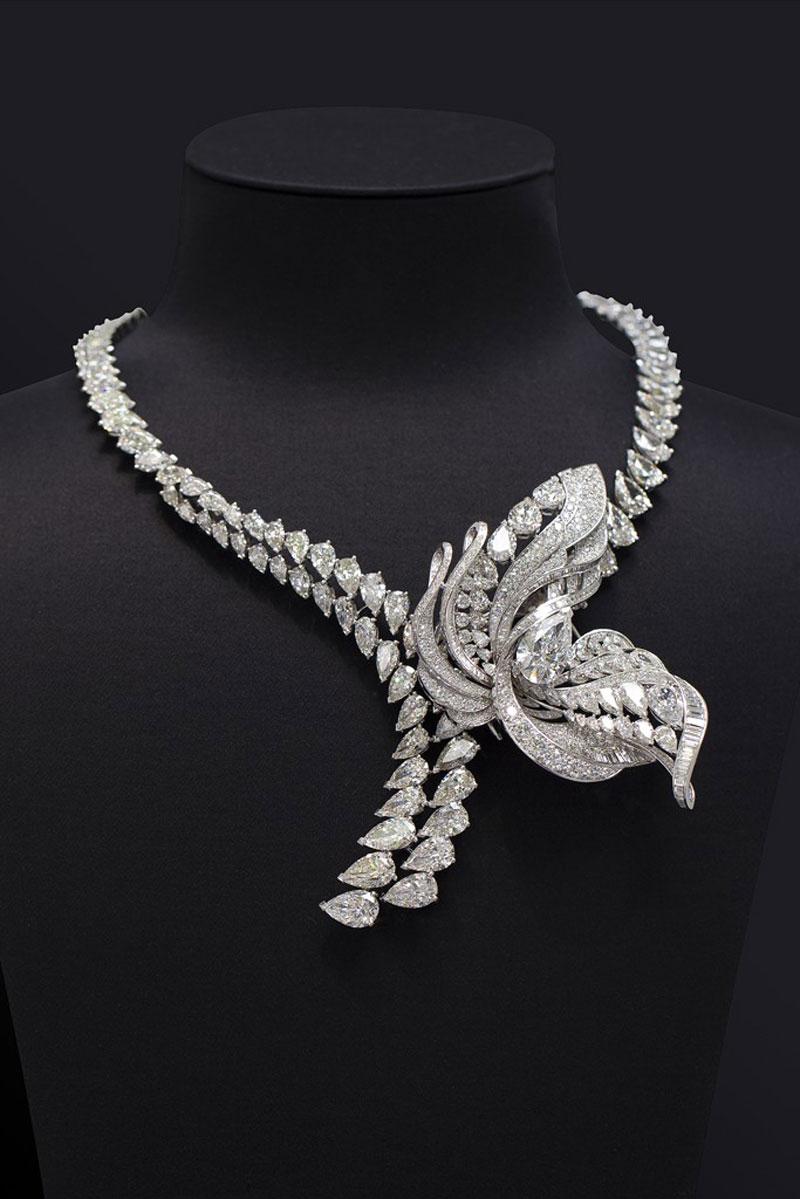 De Beers necklace. Image: Extravaganzi
