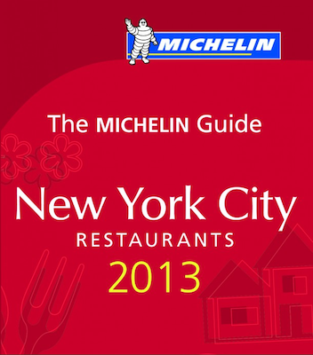 It always makes me laugh that the Michelin guide is the same Michelin as the doughy tire man.
