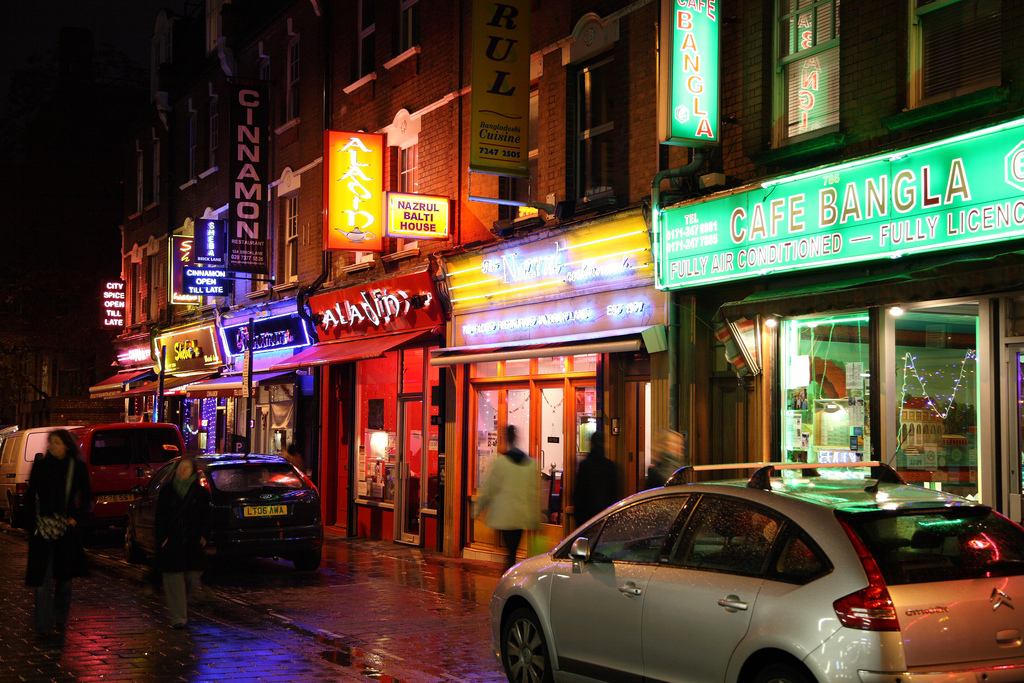 The unassuming home of excellent British-Indian food. Image: Steve Cadman