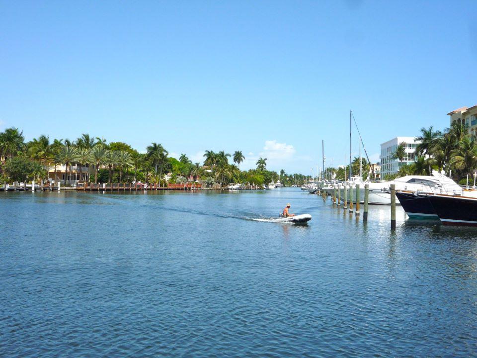 One of the (many) marinas.