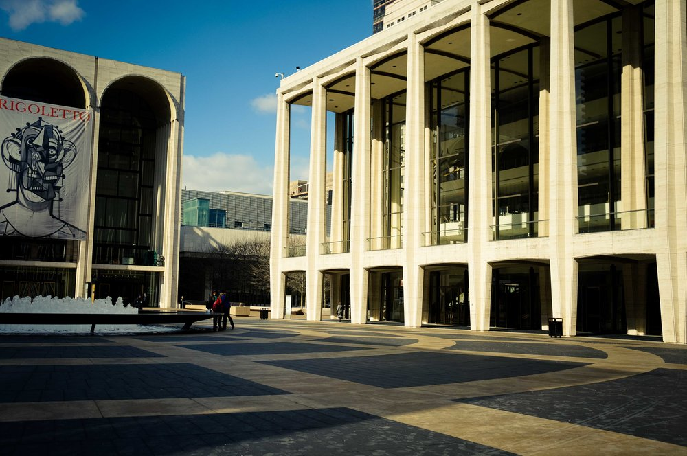 Lincoln Center central courtyard