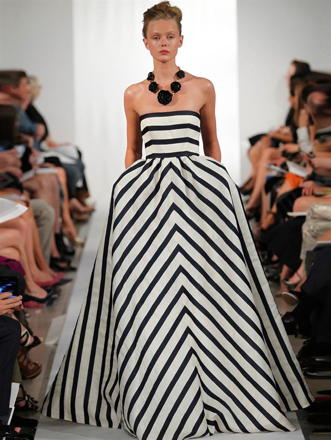 This is an impractical thing that I want. Image: Oscar de la Renta