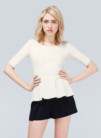 Another peplum top. Image: Aritzia