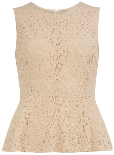 You guessed it...it's a peplum top. Image: Dorothy Perkins