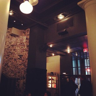 Instagramming at the Ace Hotel.