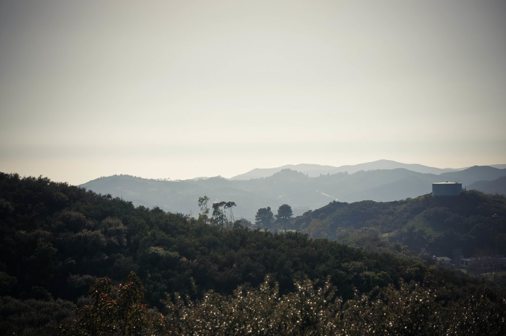 The Santa Monica Mountains.