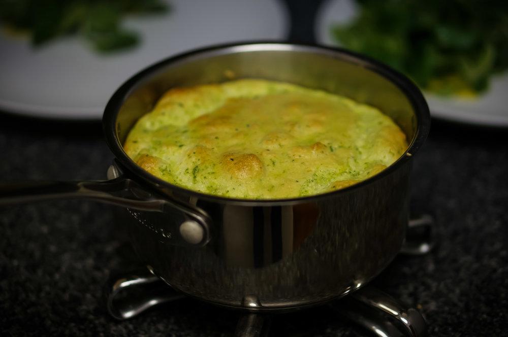 Spoiler alert - I made a soufflé.