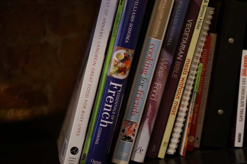 Recipe books - I love them, even though I tend to use them more for inspiration than full on recipes.