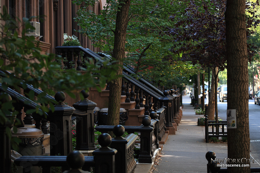 Perry Street in the West Village. Image: Christa in New York