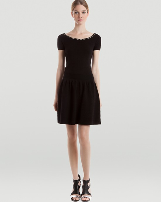 Sandro Rappel short sleeve dress
