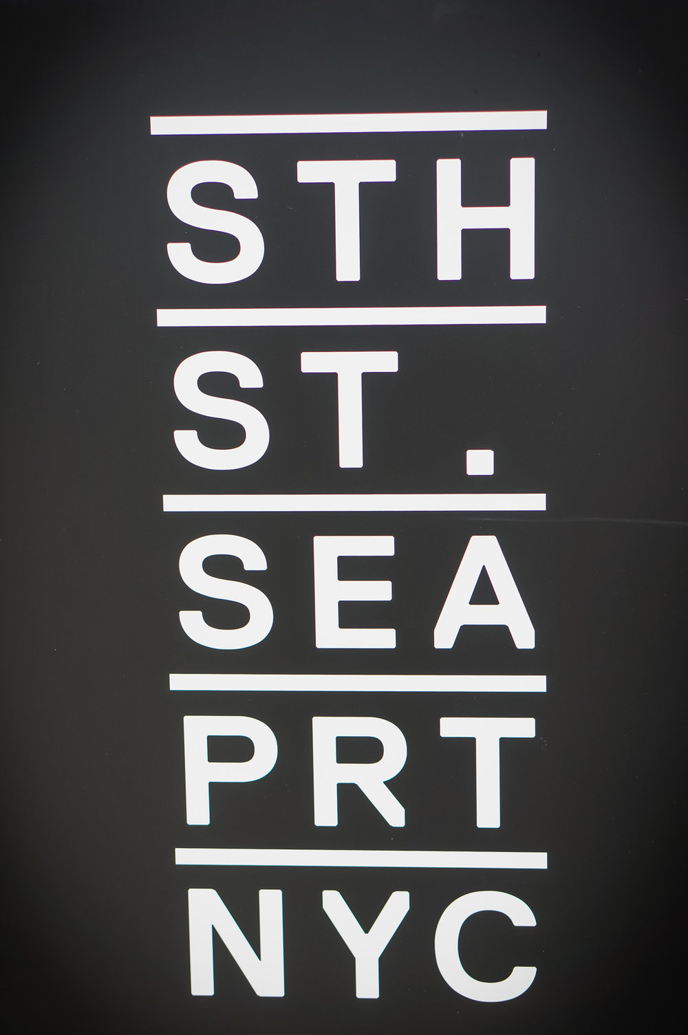 The new logo for South Street Seaport.