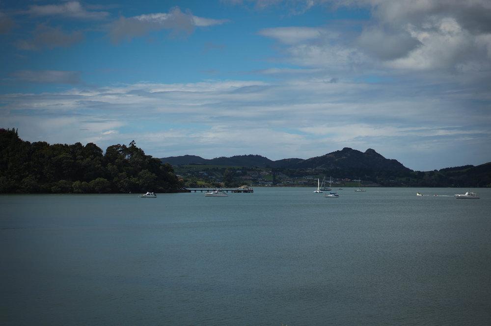 Parua Bay.