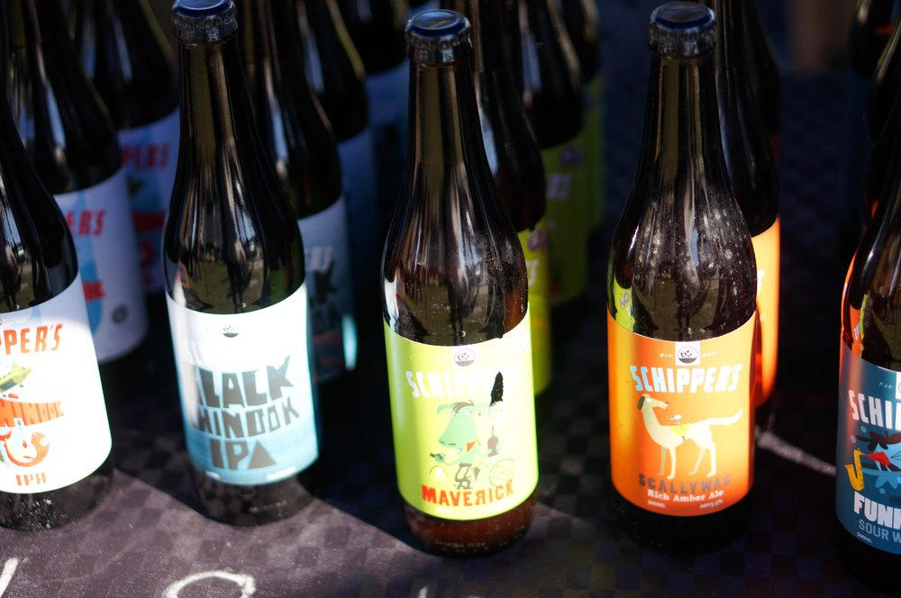 Schippers beer at Mangawhai market. Tried the Scallywag over the weekend. Insanely good.