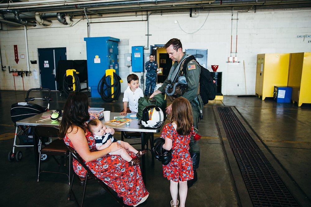 Military Homecoming Photographer | Oak Harbor, WA