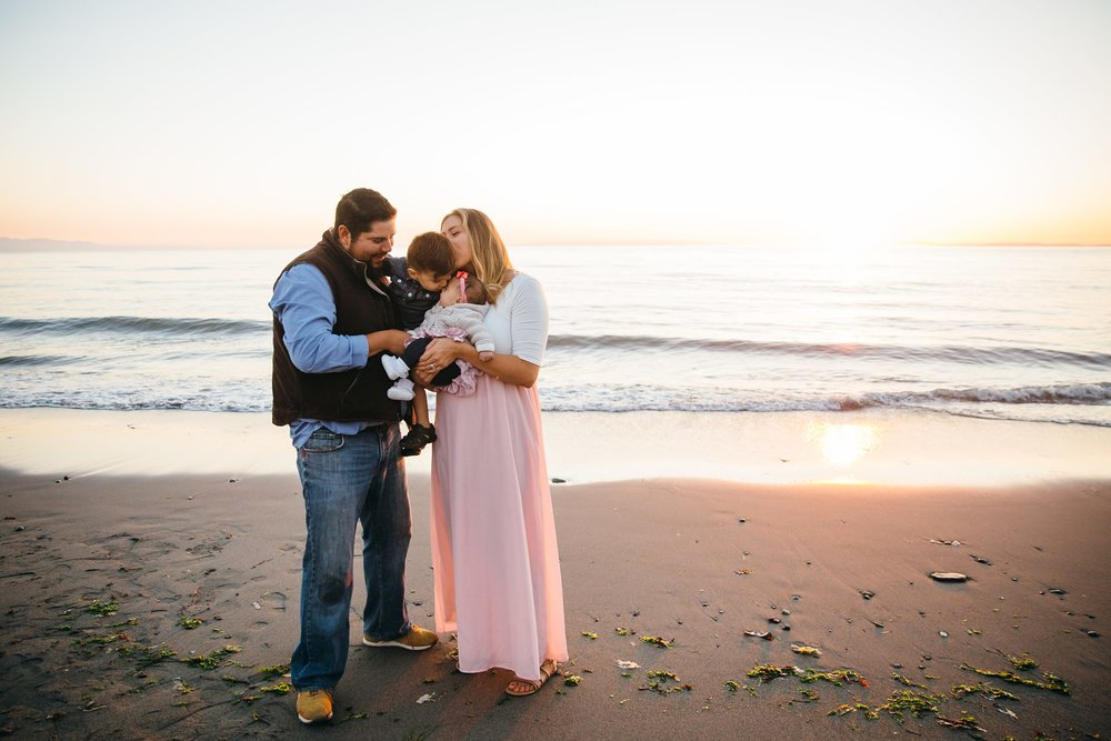 Rocky Point Beach | Whidbey Island Family Photographer