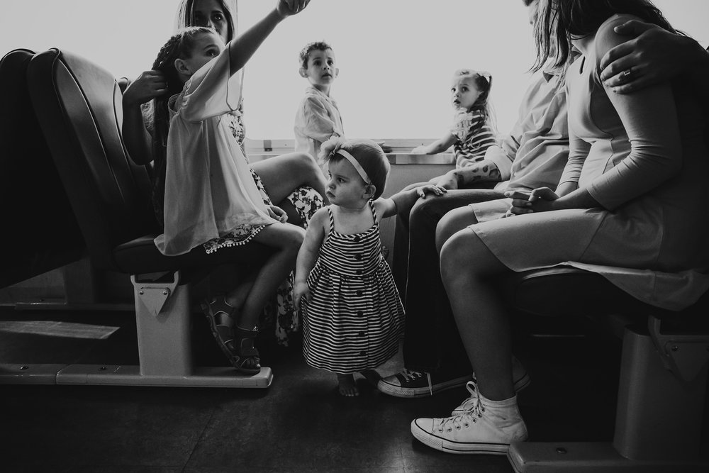 Family Session on the Ferry | Whidbey Island Photographer