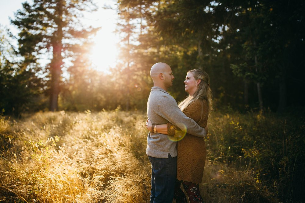 Sunset Family Pictures | Oak Harbor, WA Family Photographer