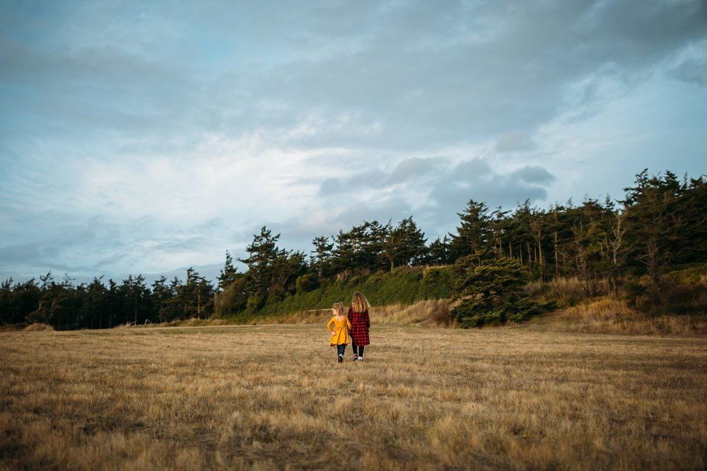 Sunset Pictures at Fort Ebey | Oak Harbor Photographer