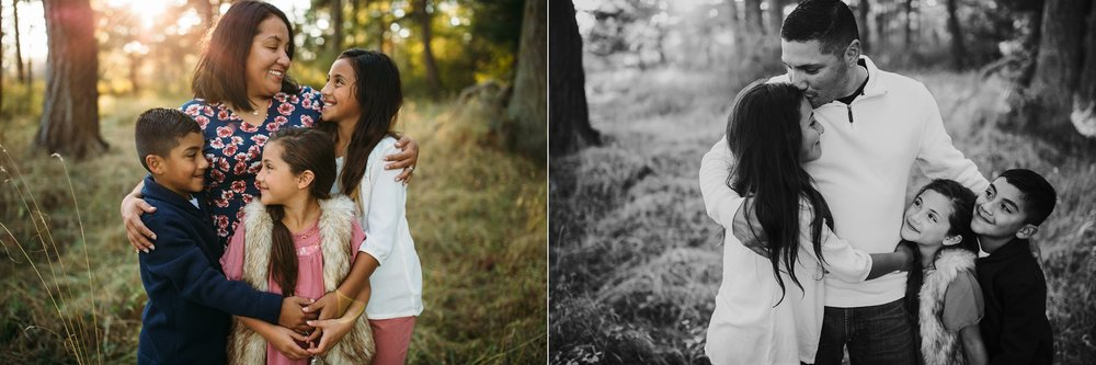 Fall Family Pictures in Beautiful Field | Whidbey Island Family Photographer