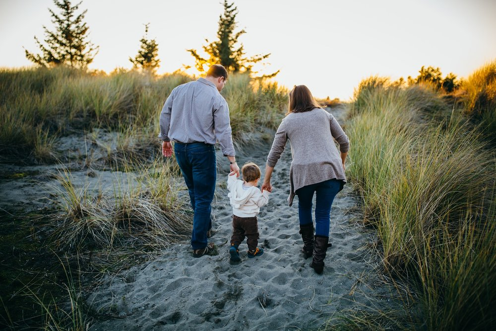 Fall family pictures on Whidbey Island | Oak Harbor, WA Family Photographer