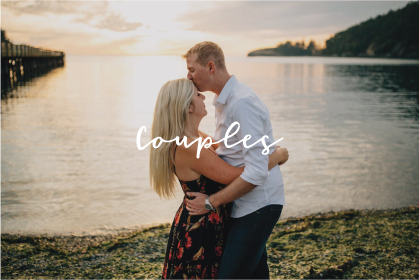 Whidbey Island family photographer couples