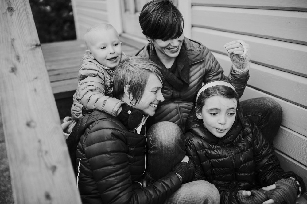 Whidbey Island family explores Coupeville Wharf | Coupeville, WA Family Photographer