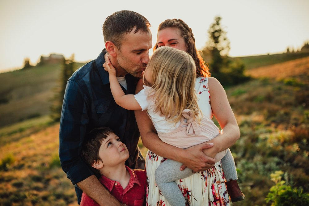 family photographer hurricane ridge olympic national park