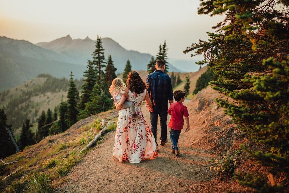 Olympic National Park family photographer