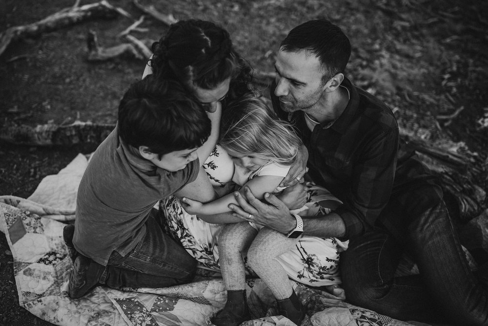 family mountain photography session