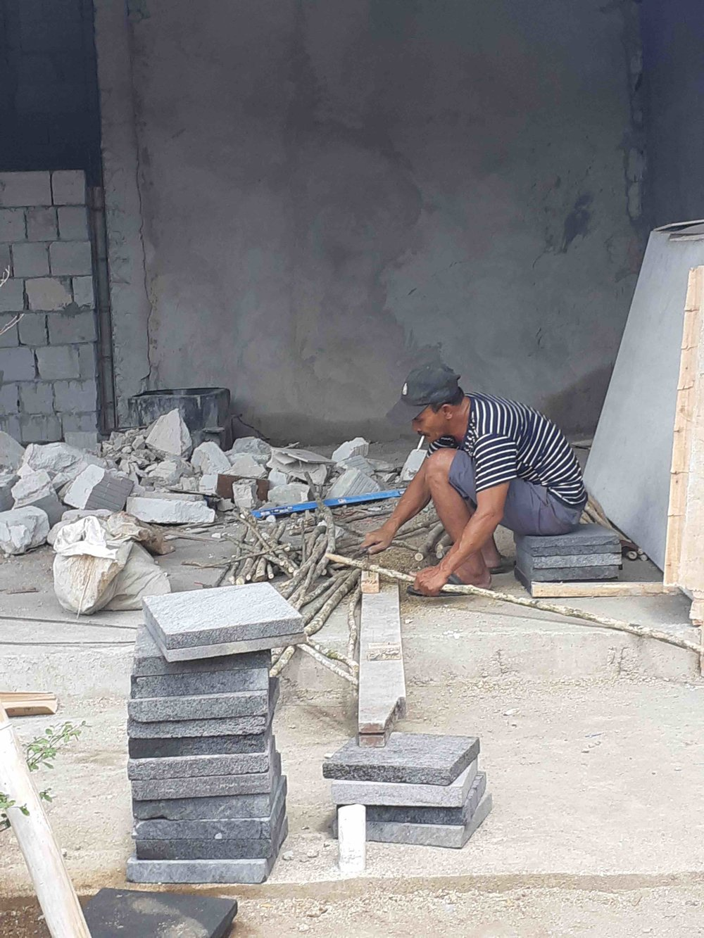 James Buchanan | Contractor from Lombok works away