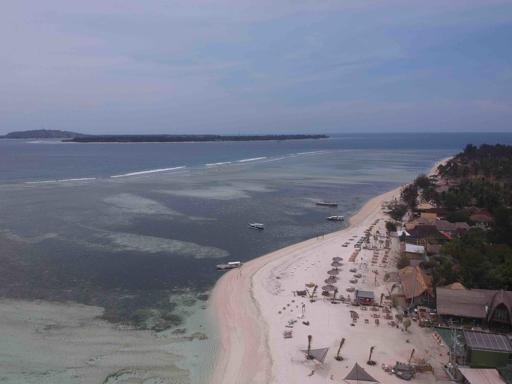 James Buchanan | The 3 Gili's from Gili Air, in the Air