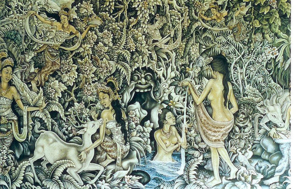 Spirit World Within A Balinese Forest | Ubud Museum