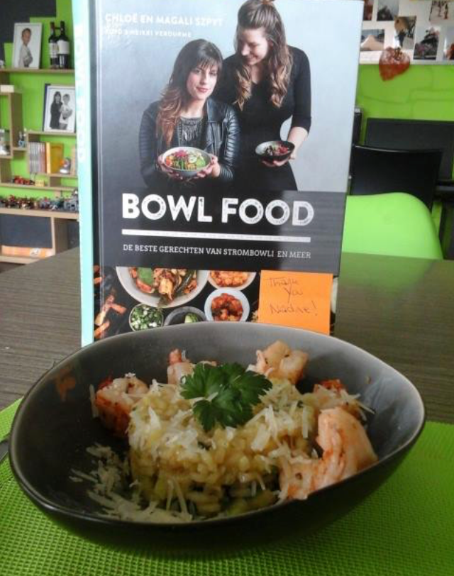 Thanks Johan Myngheer & Nadine for this delicous bowl!