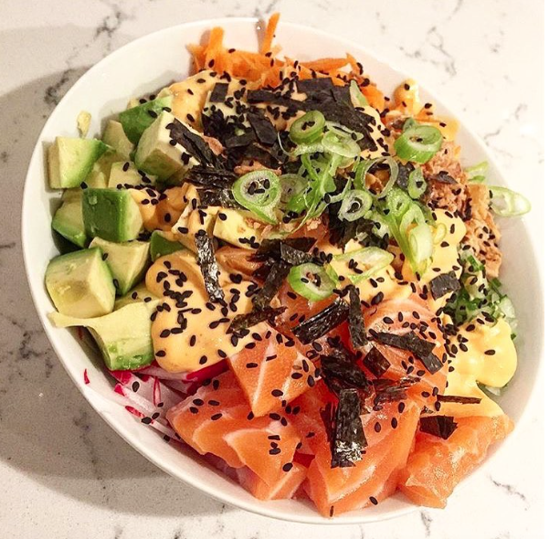 absolutely loving this great  sushi bowl  by @heldt