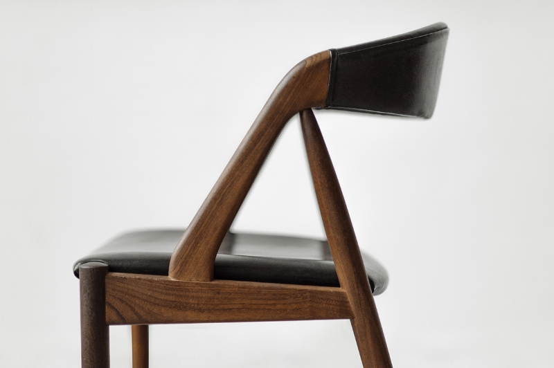 Vintage Kai Kristiansen Model 31 chair designed in 1956. Beautiful set of 4 gone home to a lovely couple's new home.