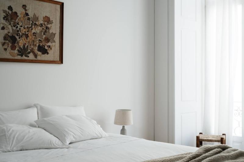 Bedroom in the Comfort two bedroom.