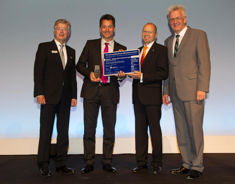 Sonderpreis für das Handwerk des Innovationspreises der Volks -und Raiffeisenbanken