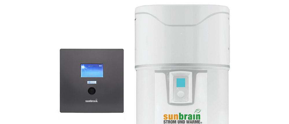 Sunbrain 1 mit Brauchwasserwärmepumpe