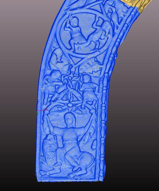 Venezia Basilica di San Marco-laser scanner-modellazione 3Dh.JPG