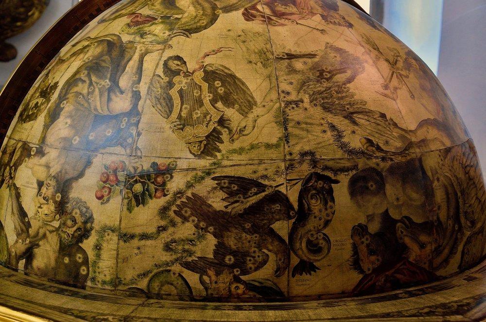 Francesco Coronelli,  Celestial globe . Edition Paris 1803, from the original plates of 1693.  Venice, Museo Storico Navale, Inv. N° 5935.  Gift of Licio Salvagno, Former Collection Beistegui.  Photo: Chiara Enzo and Marta Naturale, 2016